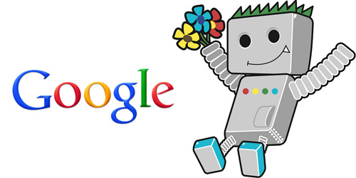 google bot logo with bot